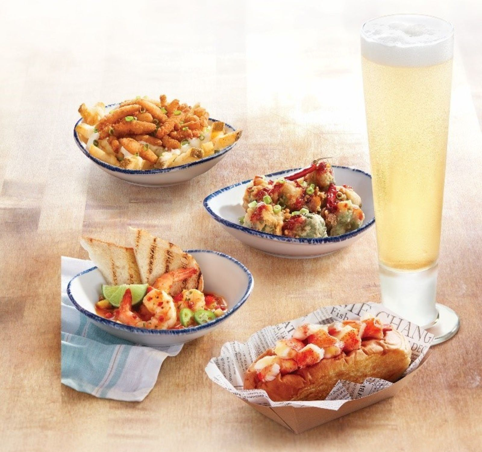 Red Lobster Introduces New Menu Featuring Tasting Plates And Globally-Inspired Entrees ...