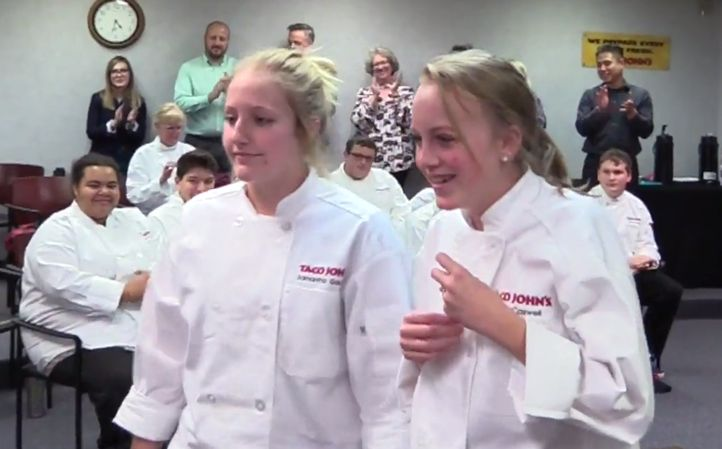 Riverton Students Win Taco John's 10th Annual High School Culinary Competition