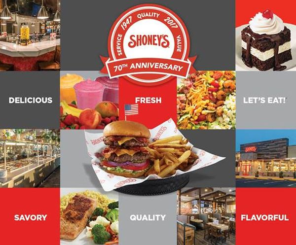 Select Shoney's Will Be Open Late on New Year's Eve and Will Feature its Legendary Breakfast Bar