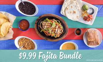 'Tis the Season to Fiesta Mas at On The Border with the $9.99 Fajita Combo