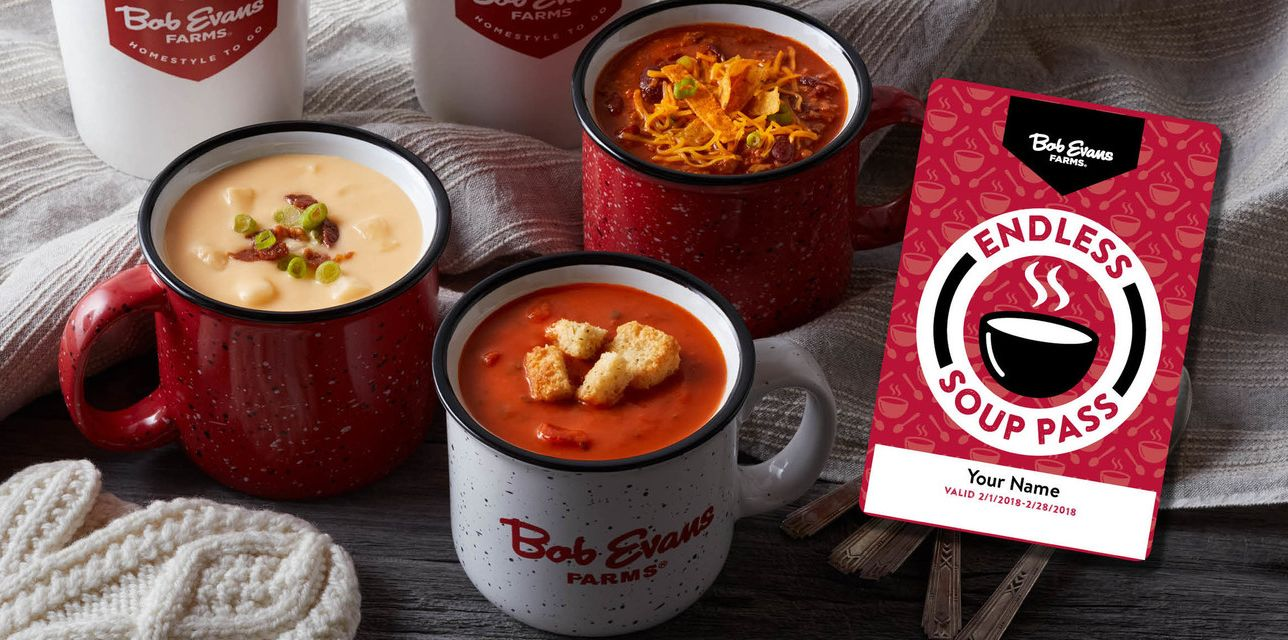 Bob Evans Restaurants Announces 'Souper' Deal To Warm Up Guests This Winter