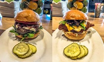 The G.O.A.T and The Screamin' Eagle on the Menu at Zinburger Wine & Burger Bar for the Championship Game
