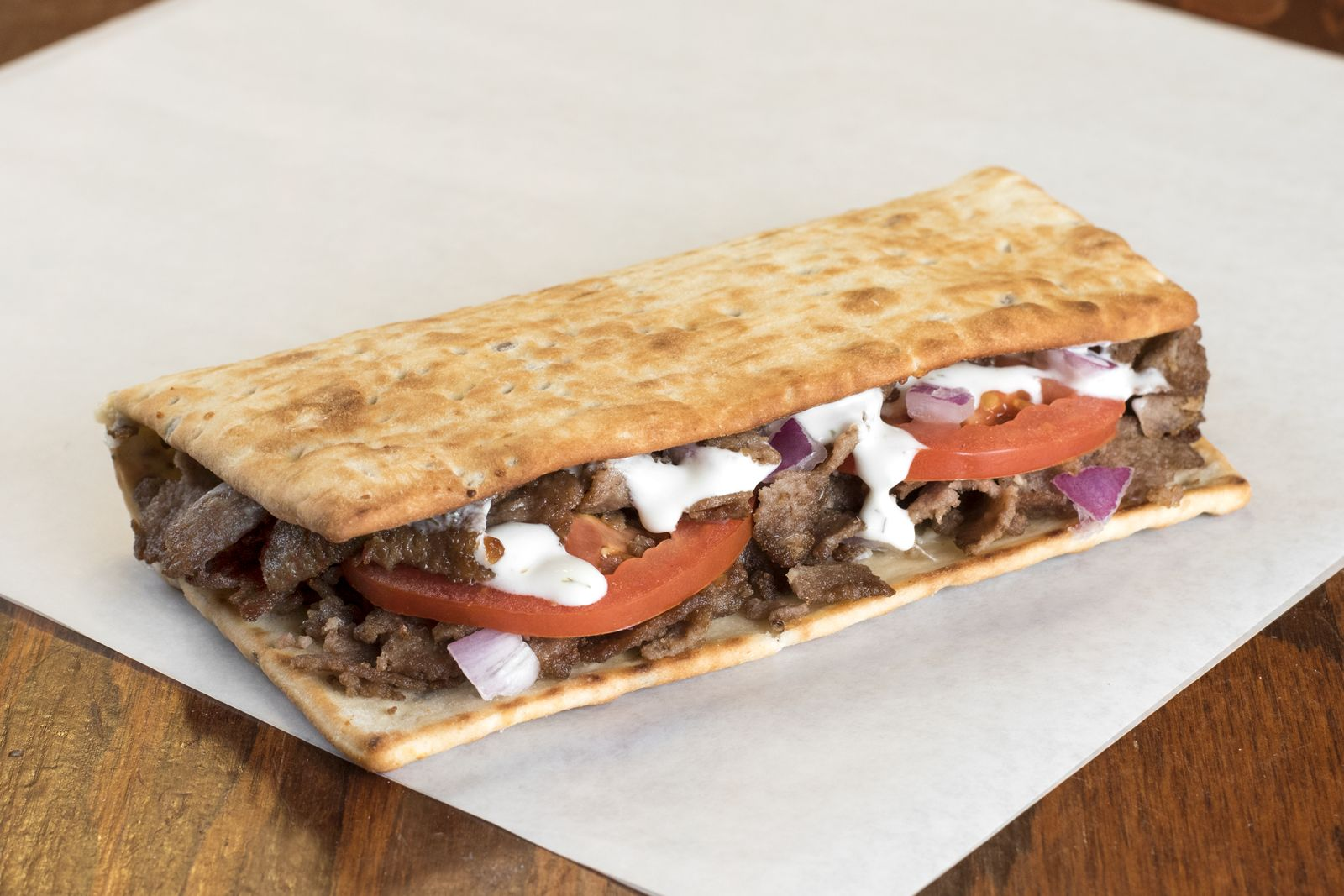 Opa! Potbelly Sandwich Shop Adds Greek Gyro FLATS to Menus Nationwide