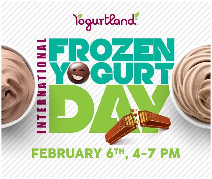 Yogurtland Celebrates Seventh Annual International Frozen Yogurt Day On February 6, 2018