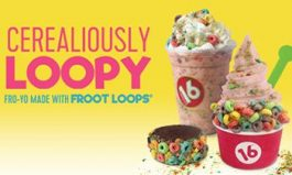 16 Handles Launches New Frozen Yogurt Flavor: Cerealiously Loopy, Made with Froot Loops Cereal!