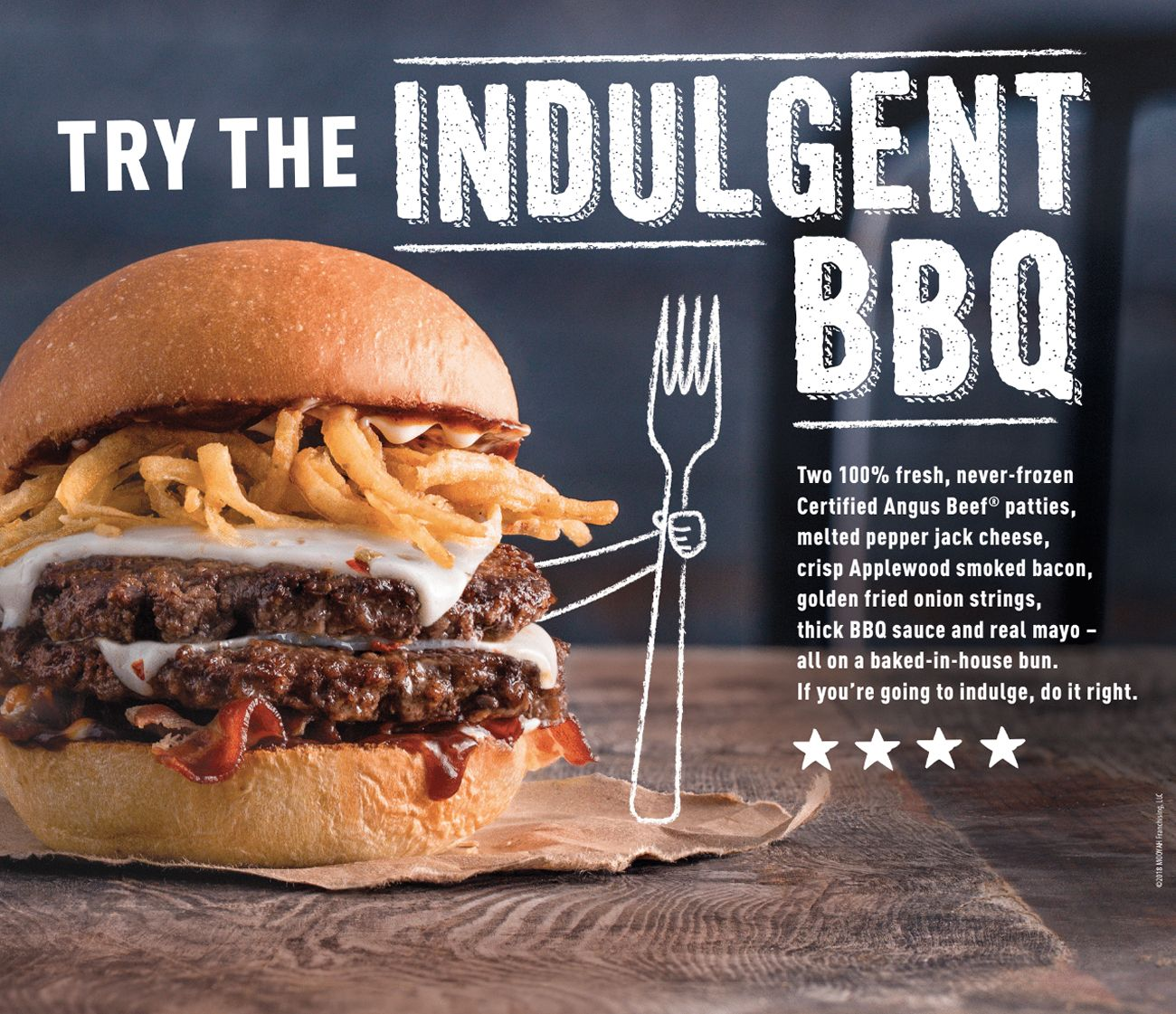MOOYAH Burgers, Fries & Shakes Launches The Indulgent BBQ