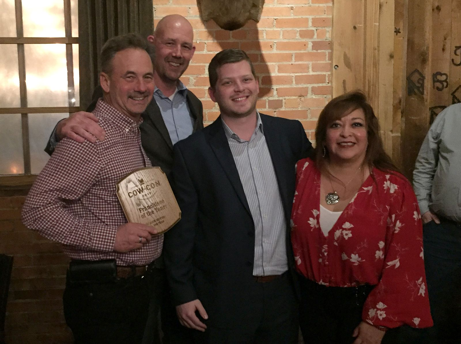McAllen's Alvie Britton Honored as Cowboy Chicken Franchisee of the Year