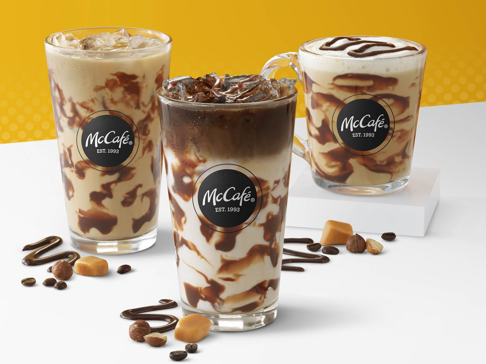 McCafé Debuts New Turtle Beverages