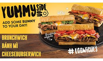 Which Wich Superior Sandwiches Launches Eggwiches Systemwide