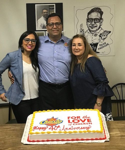 Church's Chicken Celebrates 40 Years with Market Leader Oscar Andrade
