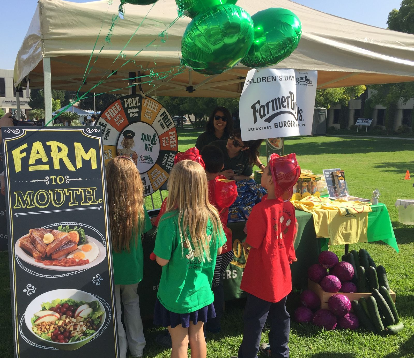 Farmer Boys is sponsoring Loma Linda University Children's Hospital's 33rd Annual Children's Day on Wednesday, May 9. The free event invites local children and their families to participate in various hands-on learning activities designed to ease nervousness about being in a hospital setting.