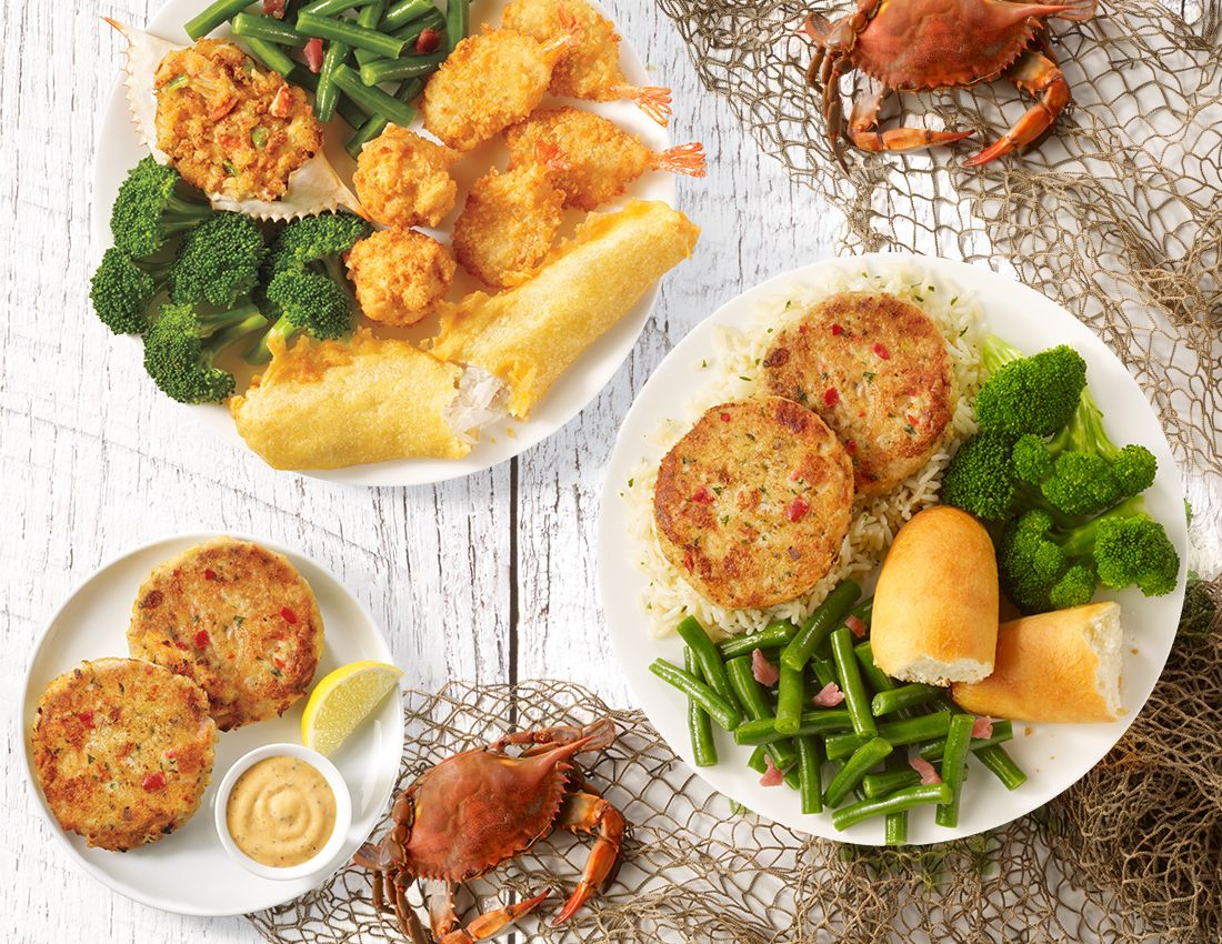 Grab your crab bib captain d 39 s announces mouthwatering for Captain d s batter dipped fish