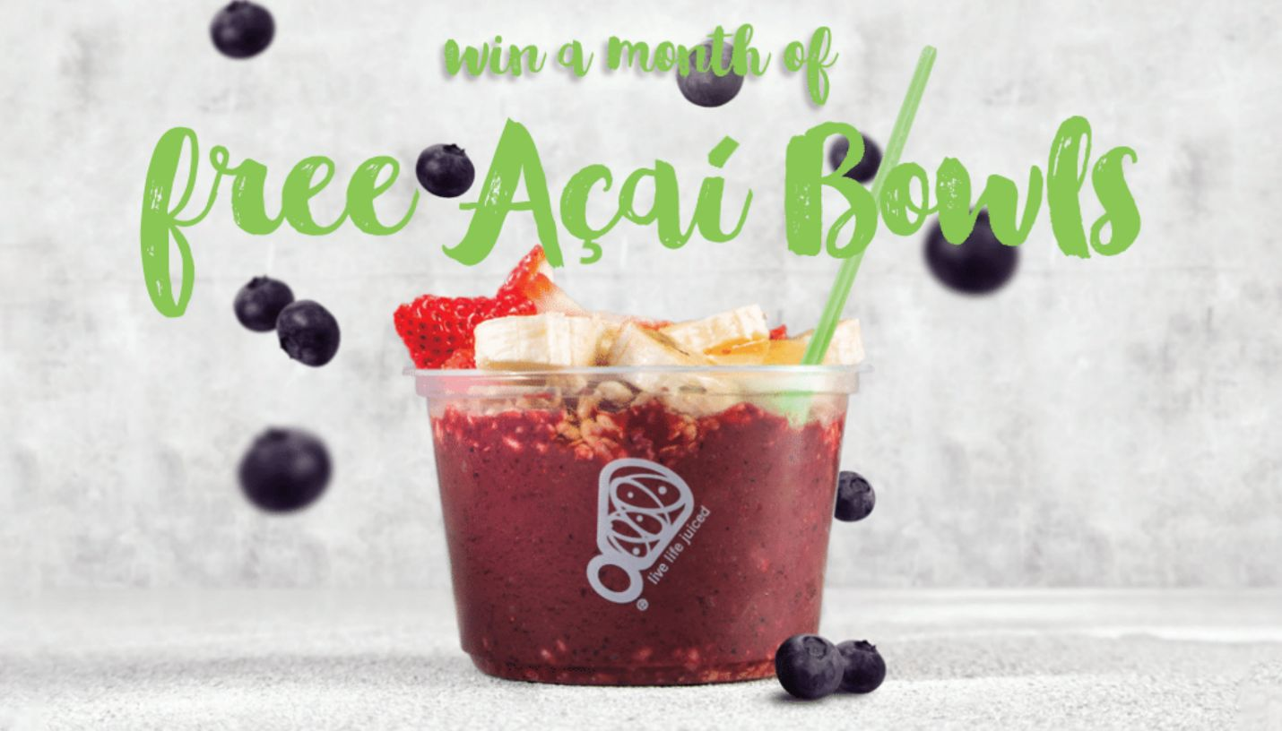 Juice It Up! Celebrates April Açaí Month with Super(fruit) Giveaway