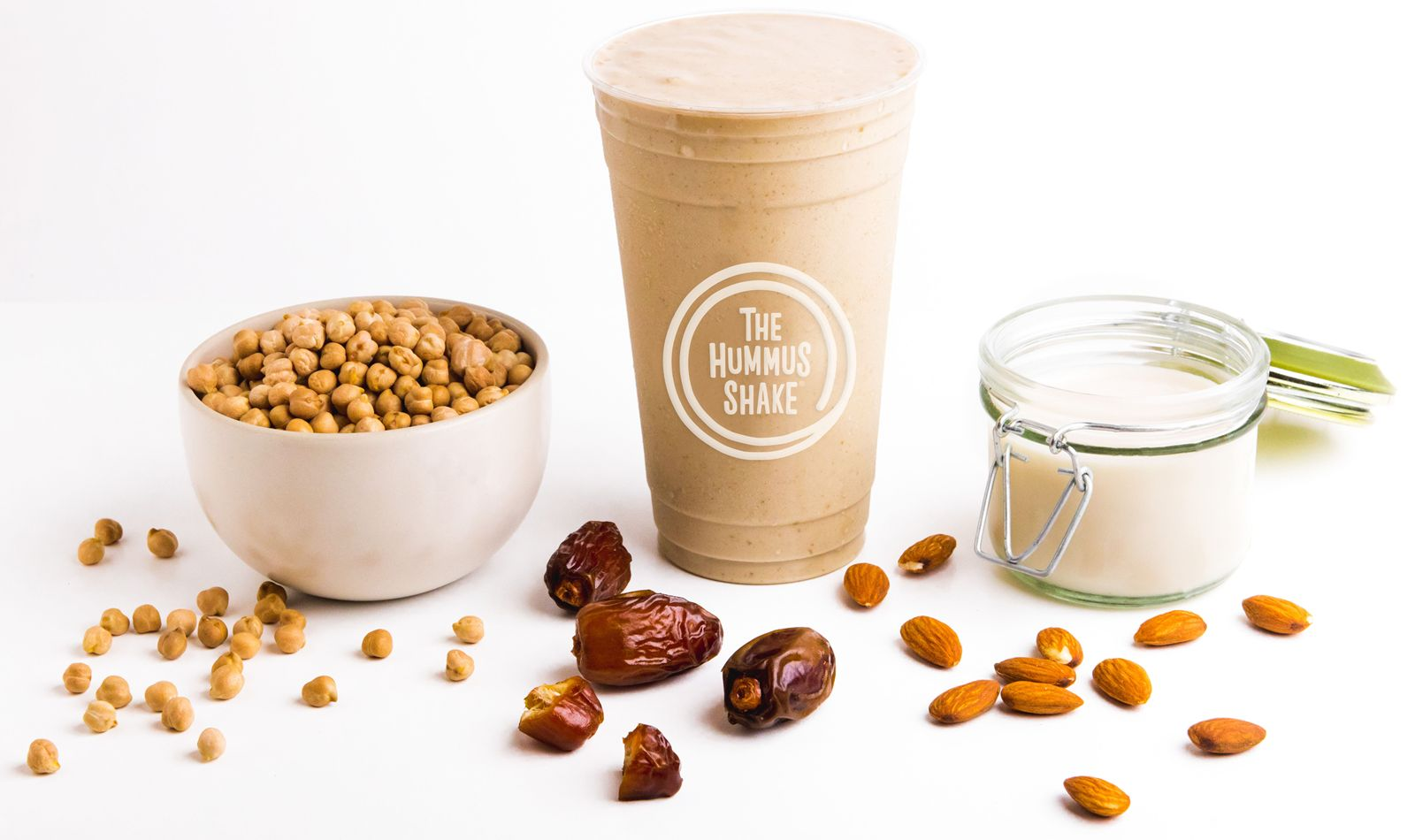 The Hummus & Pita Co. is expanding its healthy dessert portfolio with the introduction of the world's first Hummus Shake, which is set to launch at all Hummus & Pita Co. locations nationwide on National Hummus Day (Sunday, May 13).