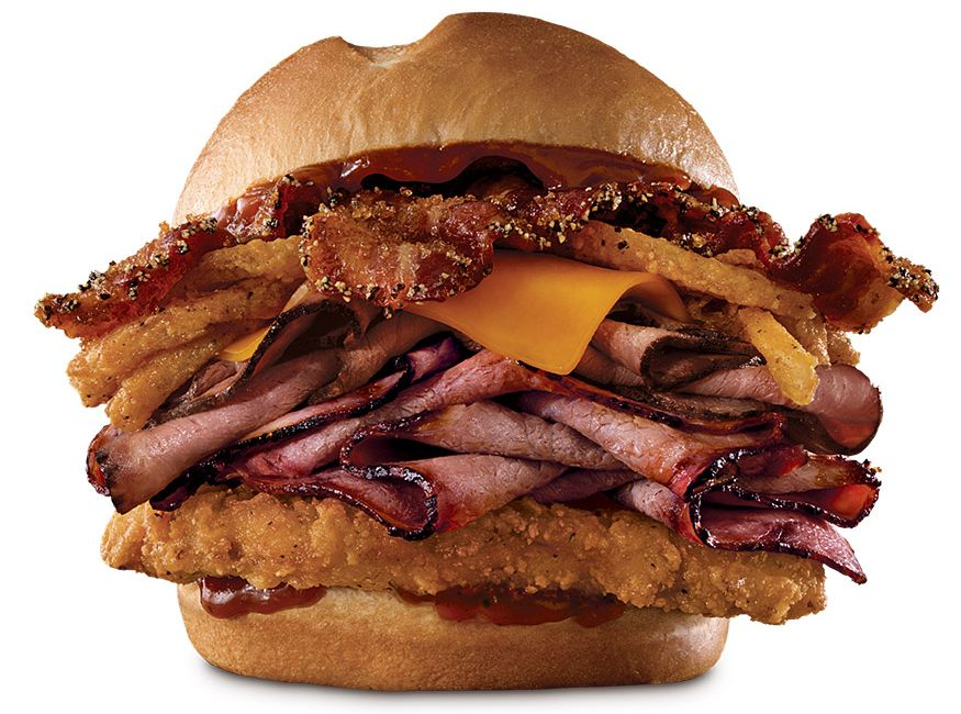 Bourbon BBQ Sandwiches Are Back at Arby's, New Triple Stack is Born