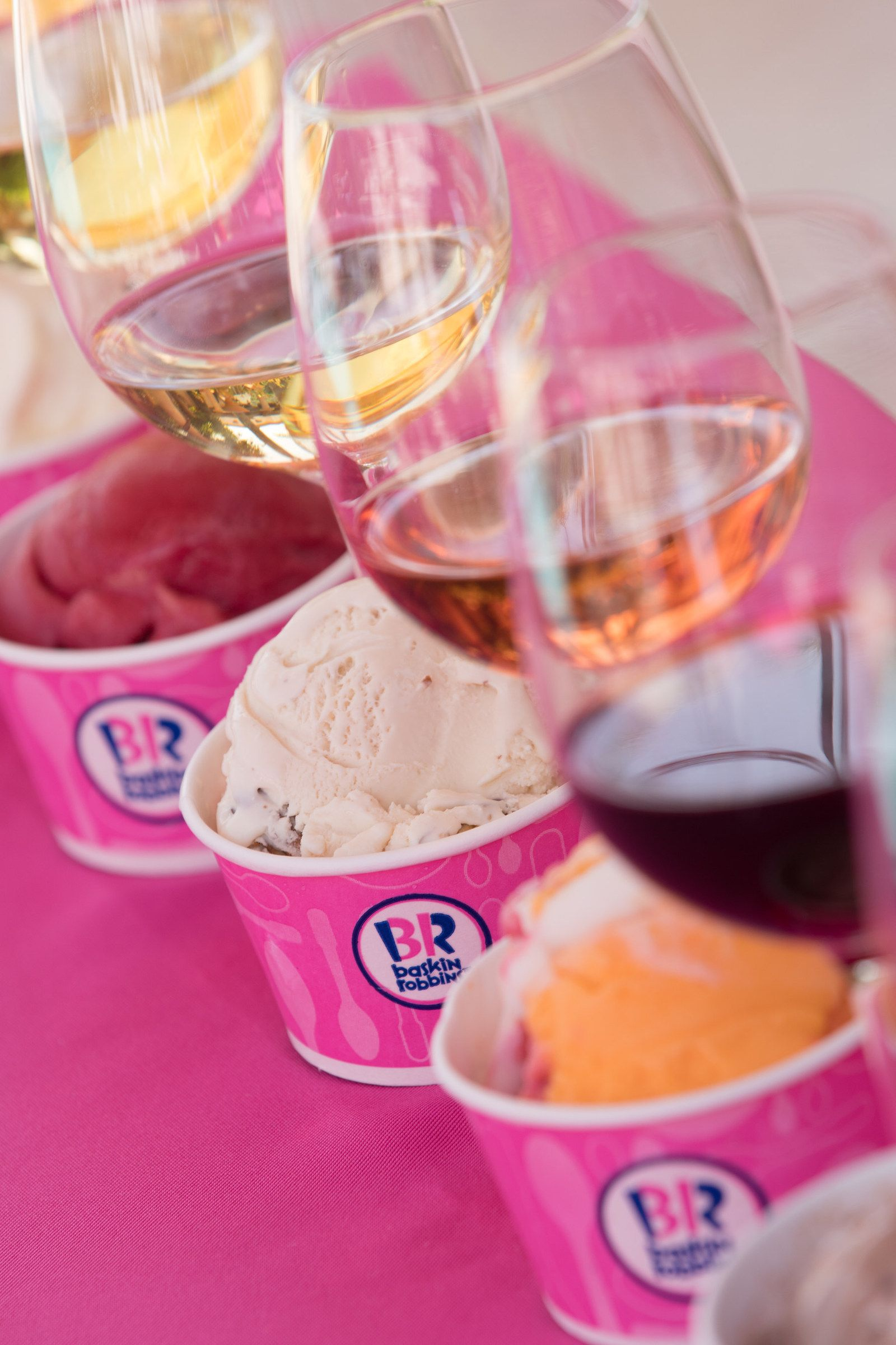 Baskin-Robbins Raises a Glass to Summer with its First-Ever Wine and Ice Cream Pairings