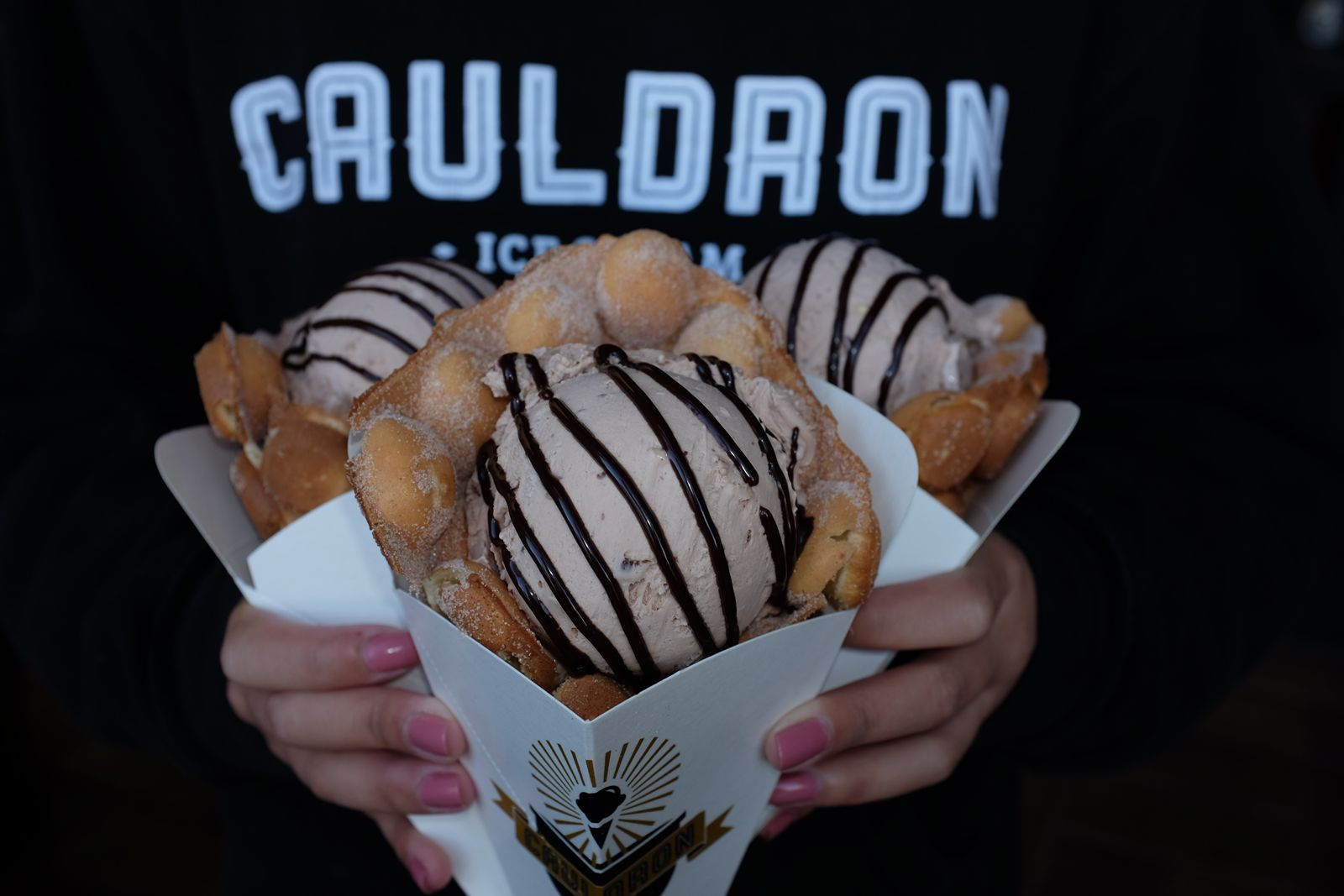 Cauldron Ice Cream, the Instagram-famous scoop shop known for its viral OG Puffle Cone, has signed a lease for its upcoming Torrance, CA store, which will be located at 21605 S. Western Ave in the city's Old Town.