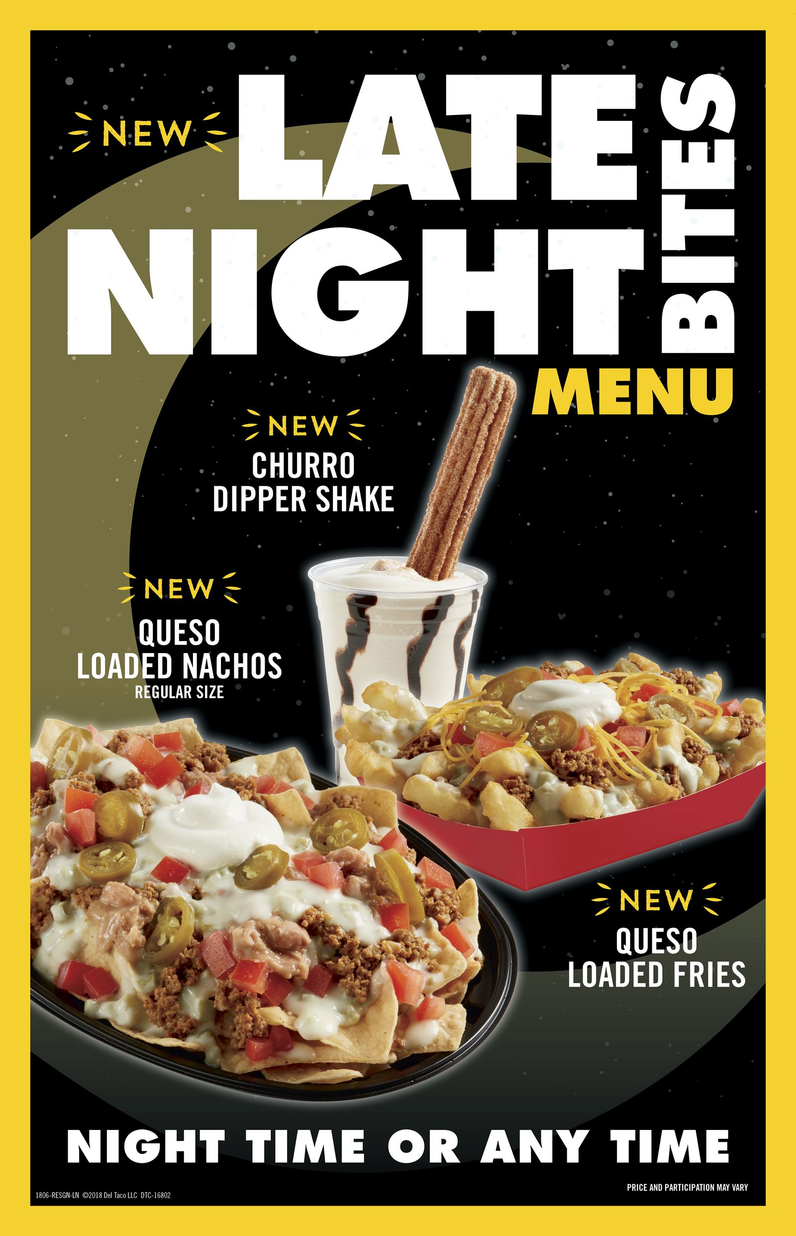 "Del Taco Introduces Dessert with a ""Churro Spoon"""