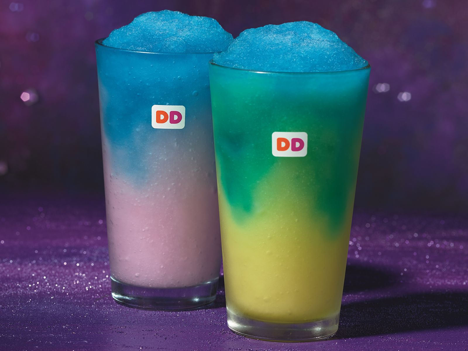 Dunkin' Donuts Goes Galactic with New Cosmic COOLATTA Flavors and Comet Candy Donut