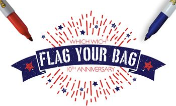 Which Wich Superior Sandwiches Honors Military with 10th Annual Flag Your Bag Campaign