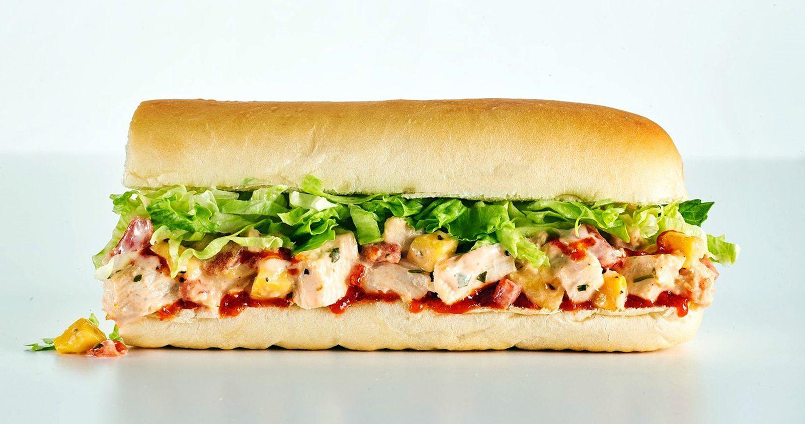 Erbert & Gerbert's Caribbean Sriracha Chicken Sandwich