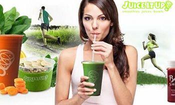 Juice It Up! Ranked Third Smoothie/Juice Franchise by Entrepreneur Magazine
