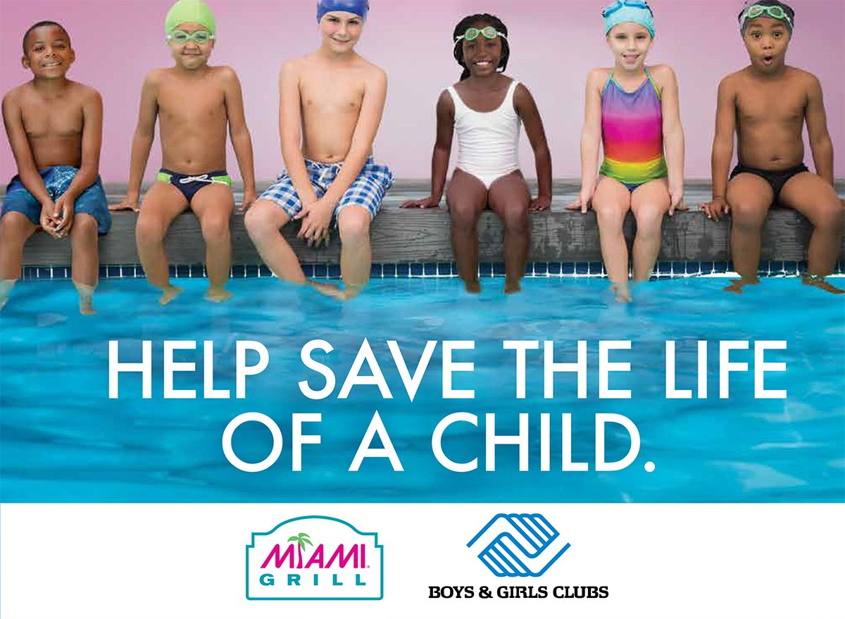Miami Grill Announces Partnership With the Boys & Girls Clubs