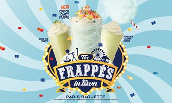 Paris Baguette Offers Frappe Lovers New Summer Flavors