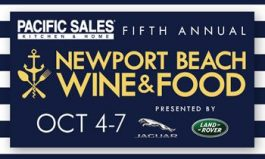 Acclaimed Newport Beach Wine & Food Festival Returning for Fifth Year October 4 - October 7, 2018, with Tickets on Sale Now