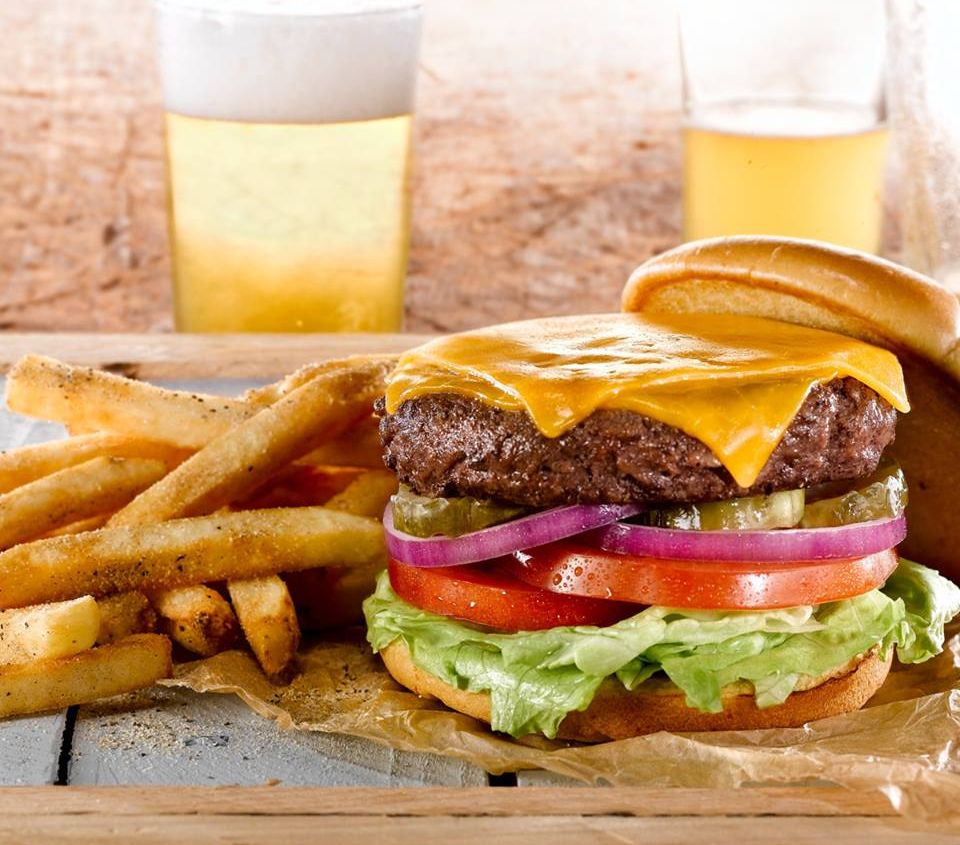 All O'Charley's Burgers $5 with Weekday Deal Through August 10