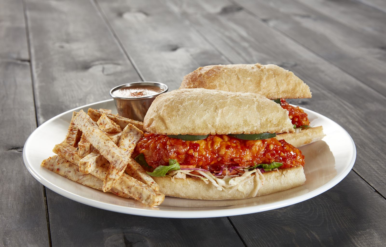 Kona Grill Crispy Korean Chicken Sandwich