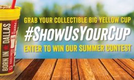 Share Your Summer Adventures with Dickey's Collectible Big Yellow Cup