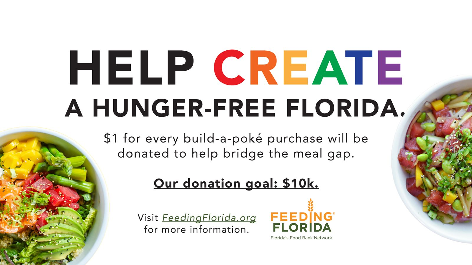 Bento Asian Kitchen + Sushi Announces Statewide Donation Campaign for Feeding Florida