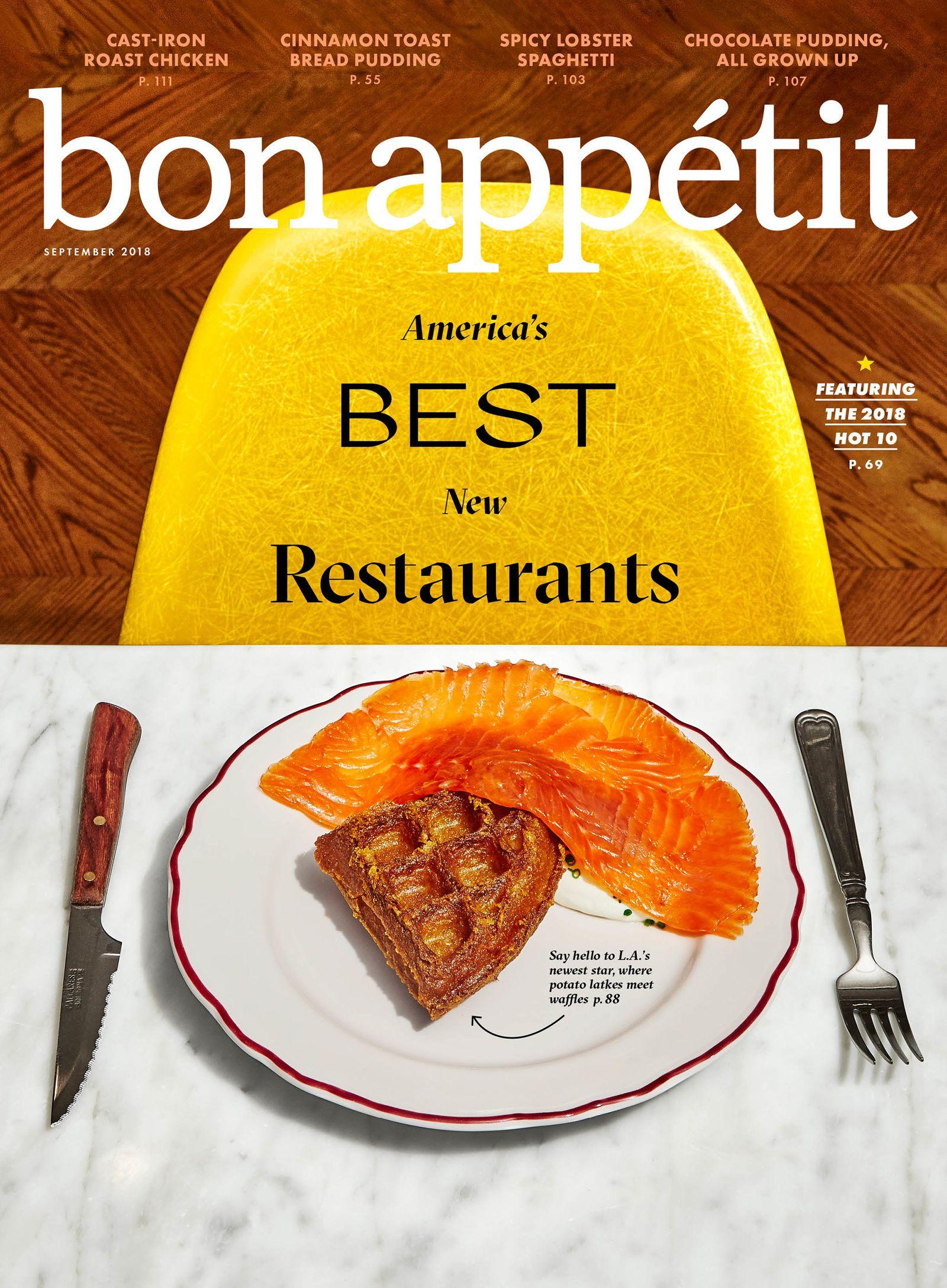 Bon Appétit Reveals The Hot 10: America's Best New Restaurants 2018