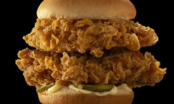 KFC Doubles Up On Its Popular Fried Chicken Sandwich With New Double Crispy Colonel