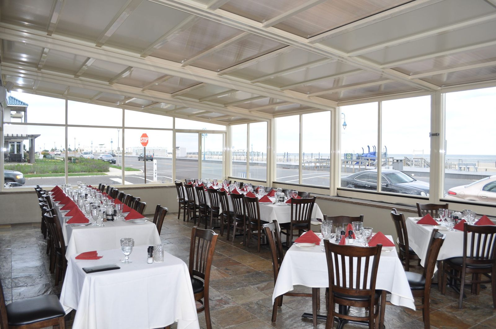 10 New Jersey Restaurant Patios Open Year-Round with Retractable Enclosures