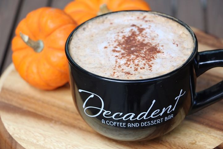 Decadent Coffee and Dessert Bar Launches Fall Drink Menu and Decadent Desserts!