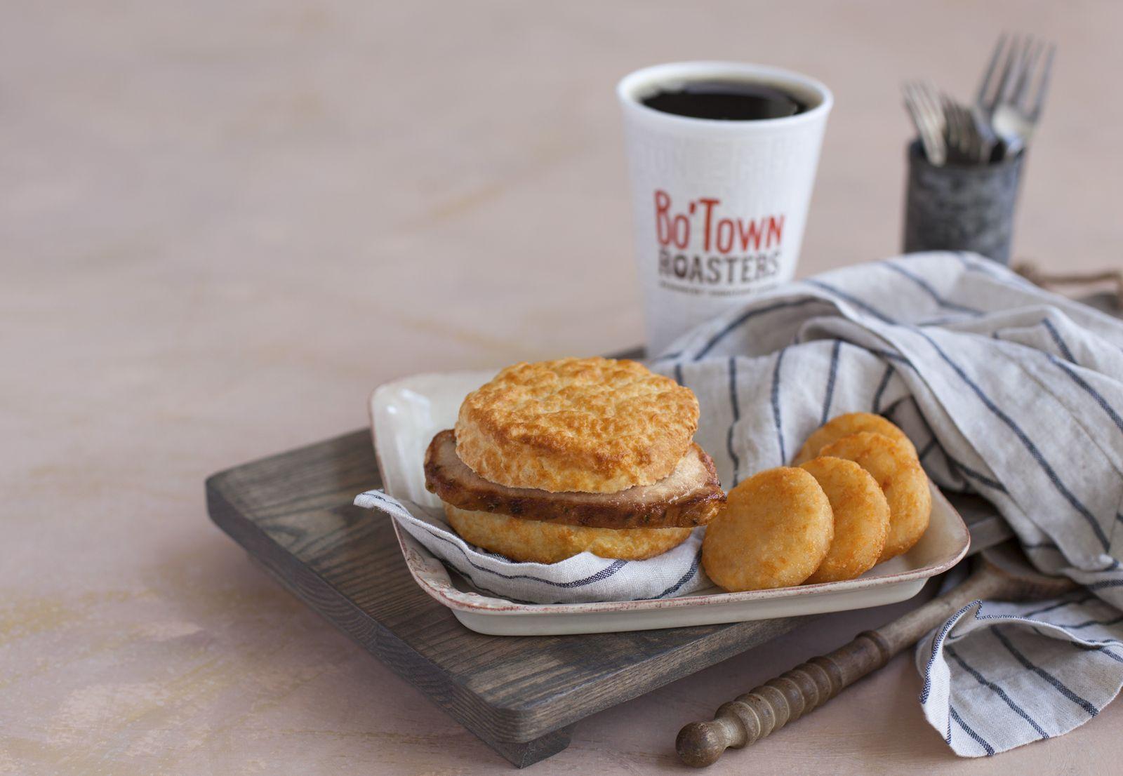 Grab the Griller! Bojangles' Pork Chop Griller Biscuit Returns for a Limited Time