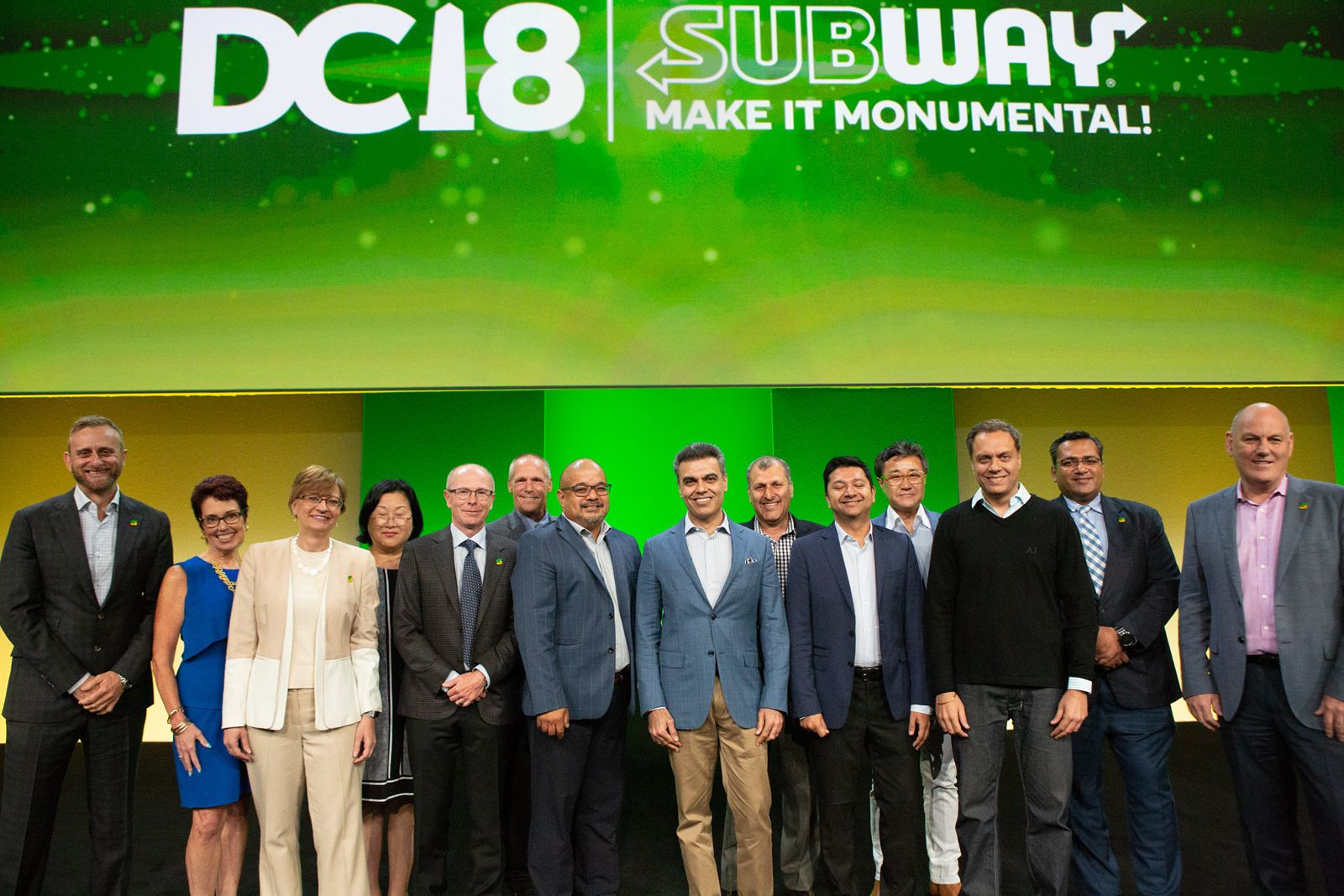 Introducing the Subway 2018 Franchise Owners of the Year and Business Development Agents of the Year