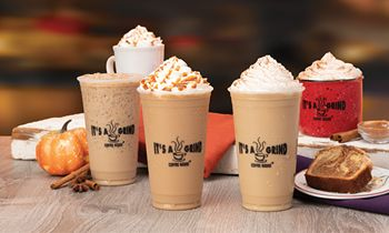 It's A Grind Coffee House Launches Flavor-Fall Drink Lineup