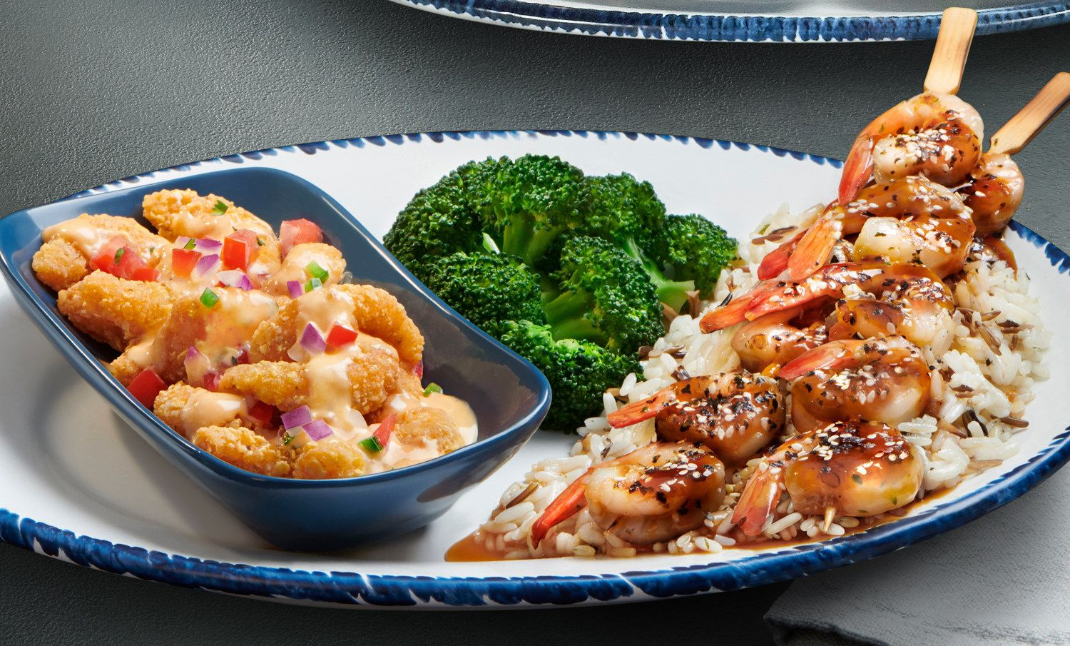 Crunchy Fiesta Shrimp and Sesame-Ginger Grilled Shrimp