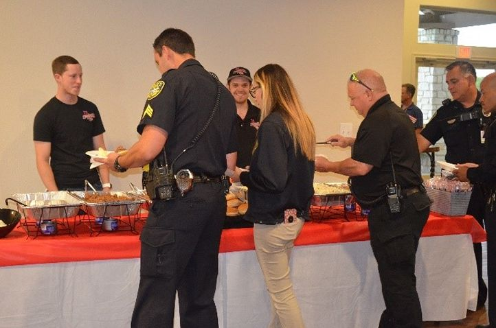 Soulman's Bar-B-Que Honors Local First Responders at Badges & BBQ Event