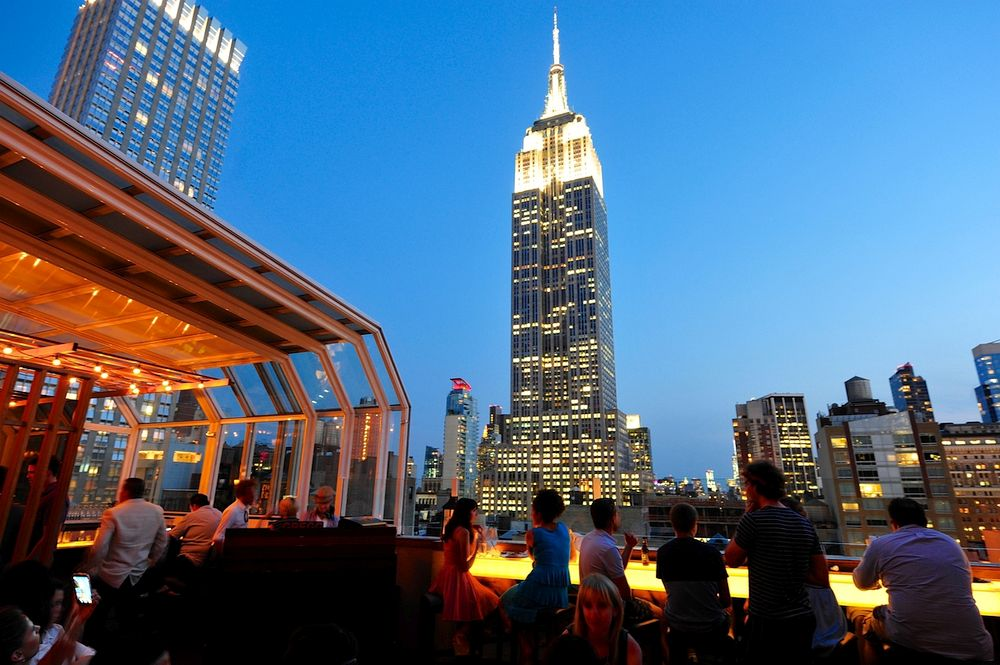 10 New York City Rooftops with Retractable Roofs