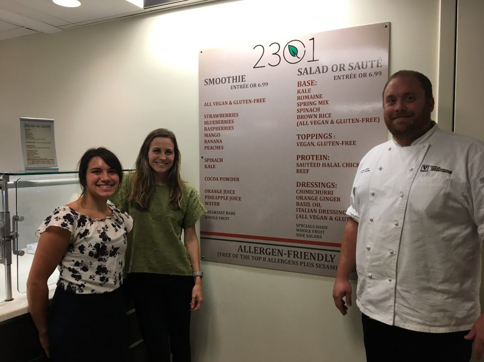 Vanderbilt University Dining Hall Completed Certification by Kitchens with Confidence