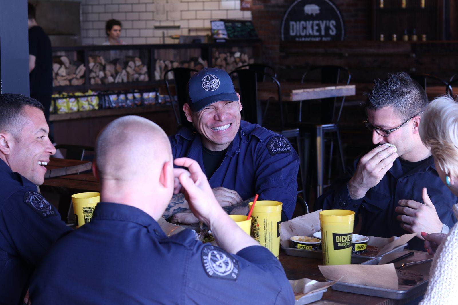 Donate to Local First Responders at Dickey's Barbecue Pit