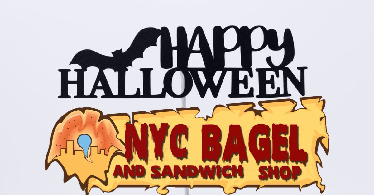 NYC Bagel & Sandwich Shop Celebrates Halloween!