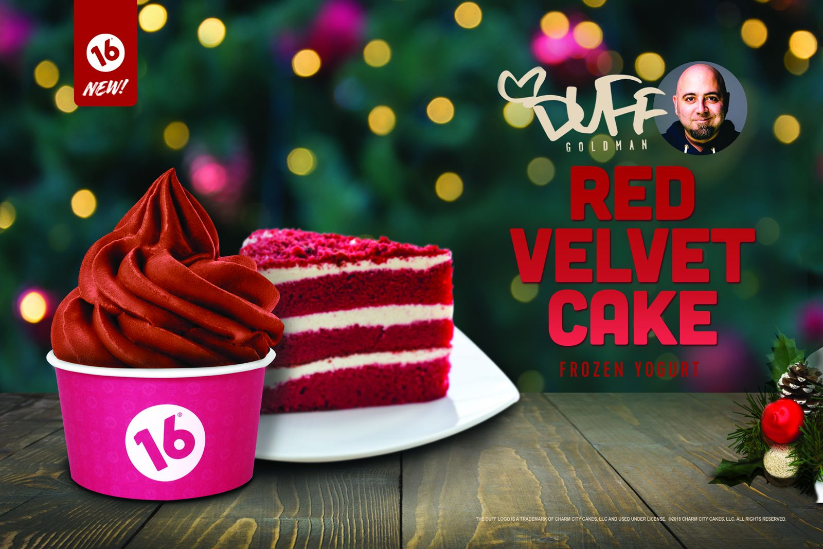 16 Handles Launches New Flavor: Duff's Red Velvet Cake