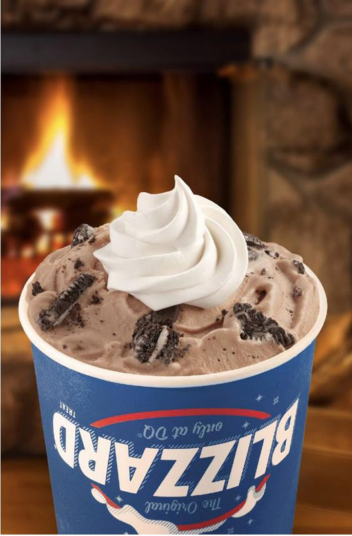 Dairy Queen Spreads Holiday Cheer With Festive Seasonal Blizzard Treats