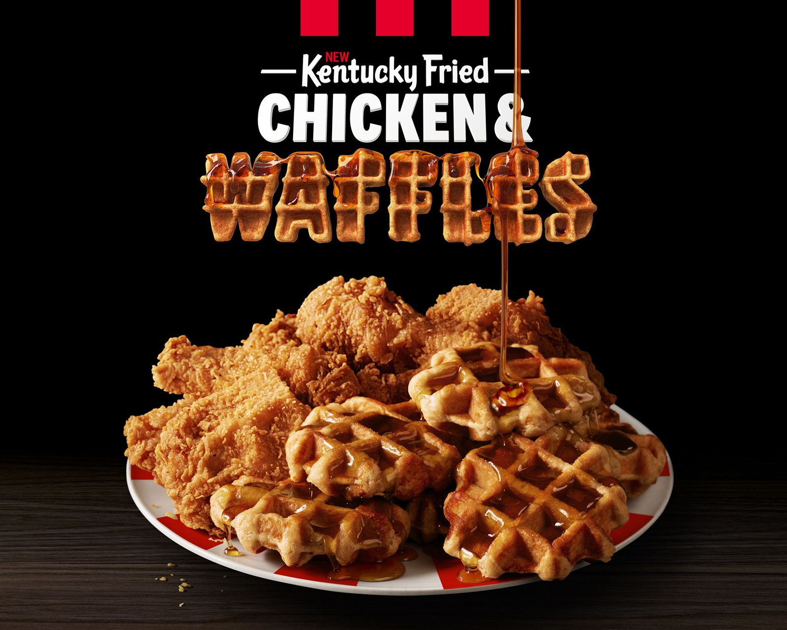 KFC Is (Finally!) Serving Chicken & Waffles - Now You Can Have Brunch Anytime, Anywhere