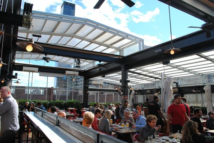 10 New York City Rooftops with Retractable Roof Systems